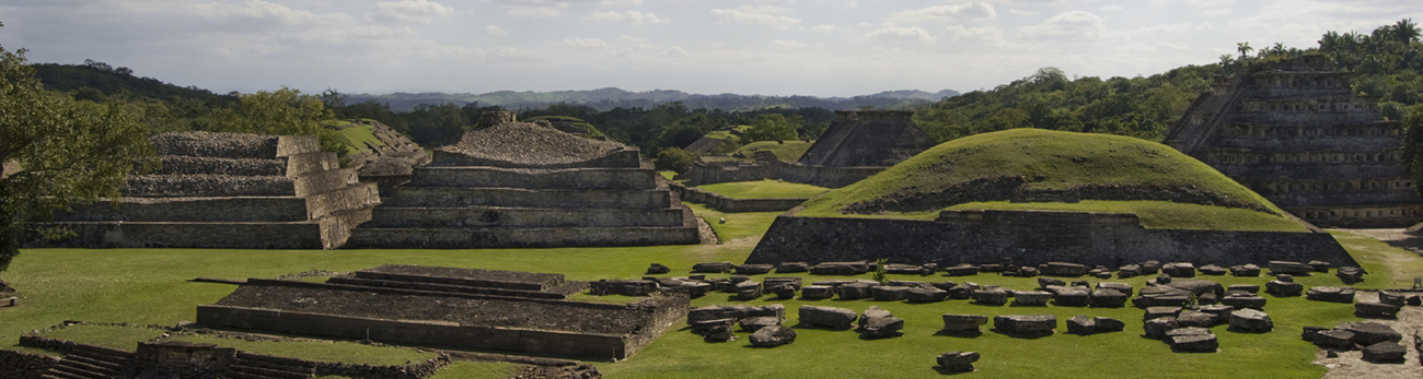 Field view of an ancient latin city