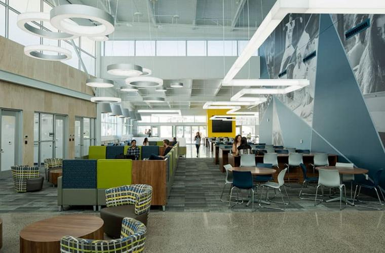 North Las Vegas Student Union seating space