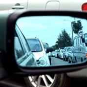 photo of heavy traffic