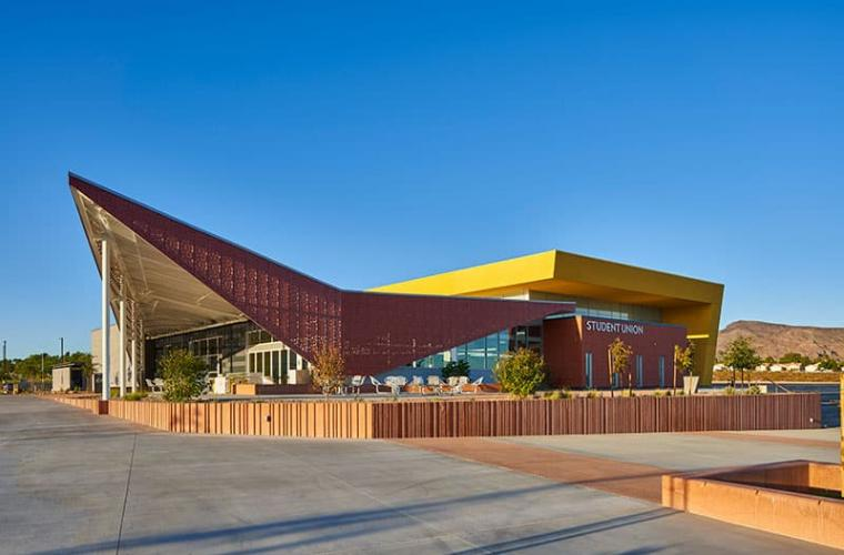 Exterior of Henderson Campus Student Union