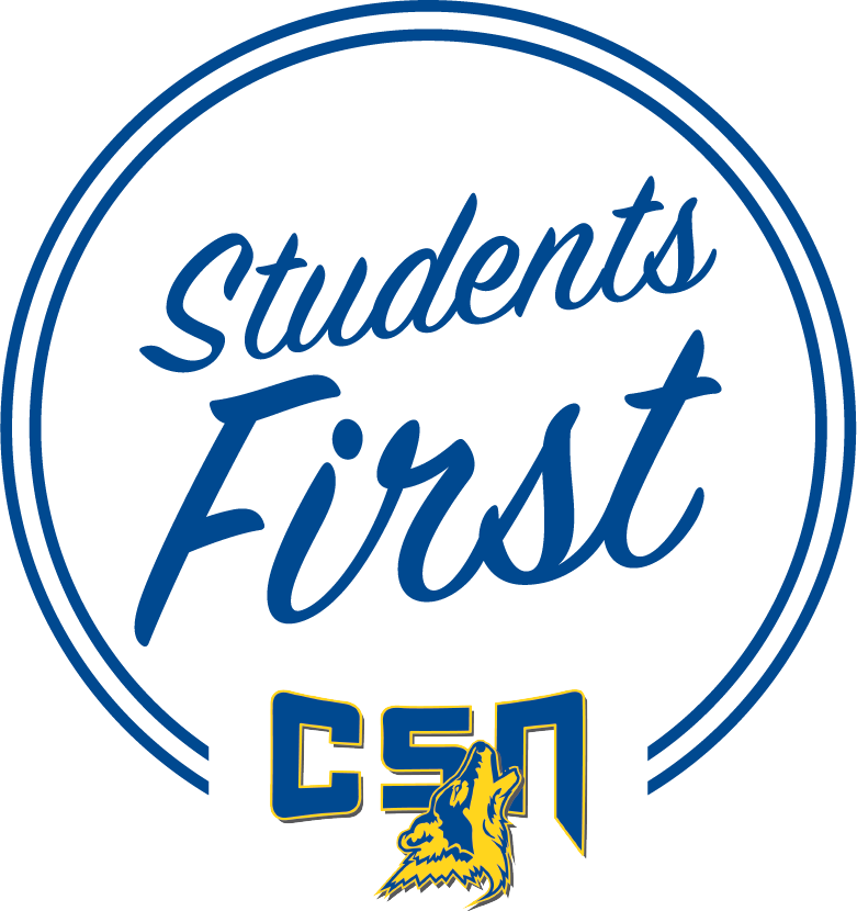 CSN Students First logo