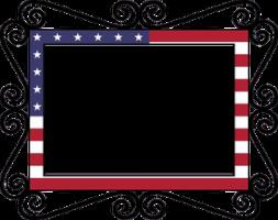 Image of USA frame