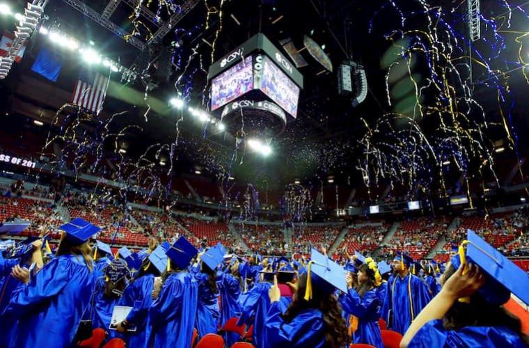 CSN Graduation at the Thomas and Mack Center