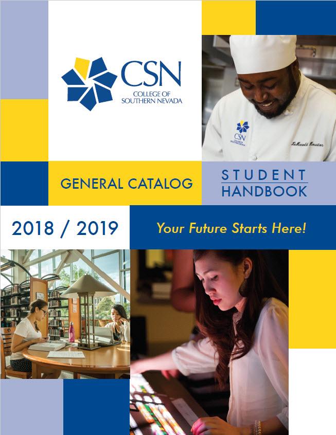 2018-2019 General Catalog and Student Handbook