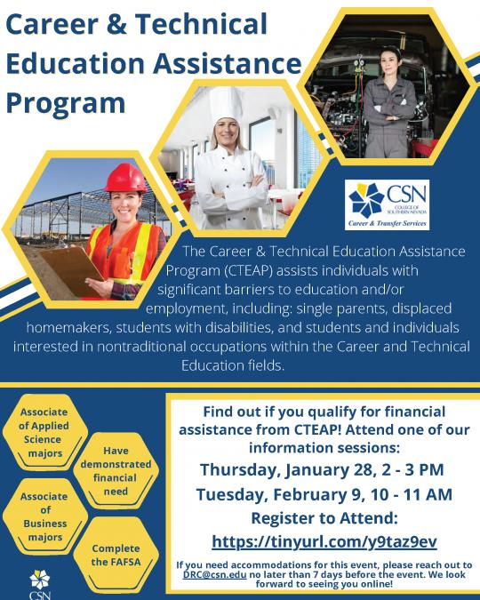 Career & Technical Education Assistance Program (CTEAP)