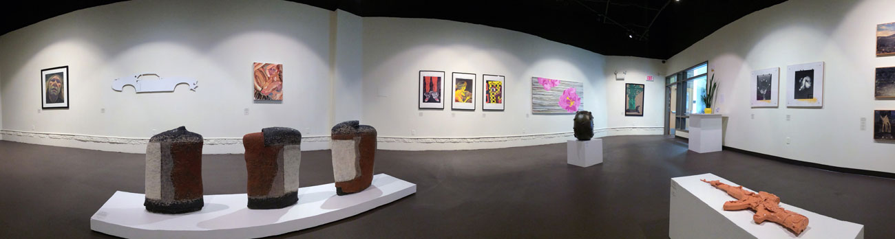 Panoramic view of the CSN Art Gallery