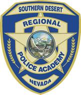 SOUTHERN DESERT REGIONAL POLICE ACADEMY shield logo