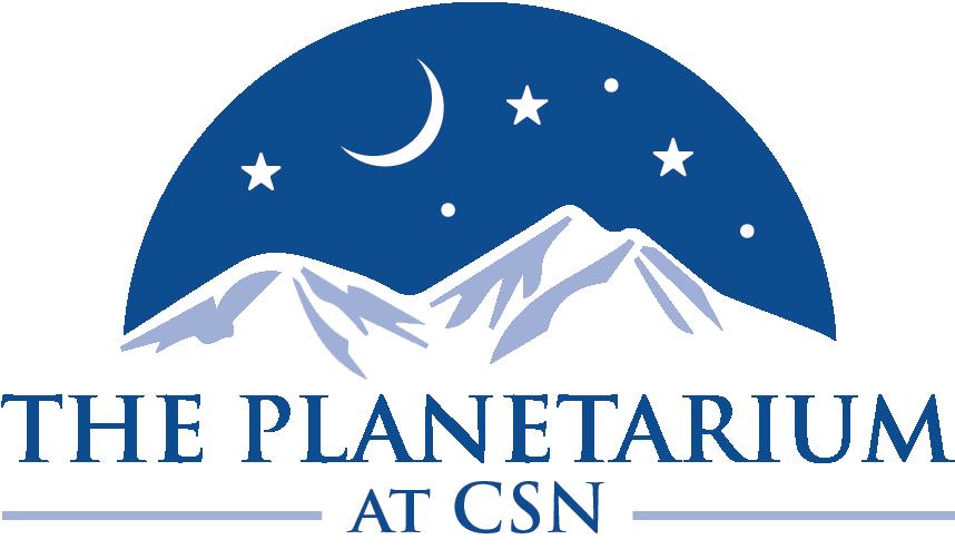 The Planetarium Logo Yellow Background