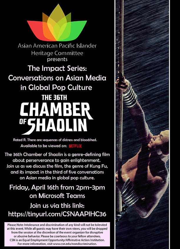 The 36th Chamber of Shaolin: The Impact of Kung Fu