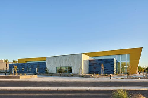 North Las Vegas exterior view of Student Union