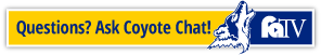 CSN Coyote Chat Bot Logo