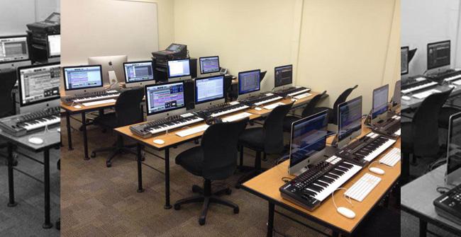 Computer Music Lab Room N119