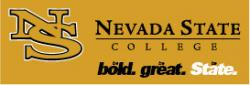 Nevada State College graphic. Be Bold. Be Great. Be State.