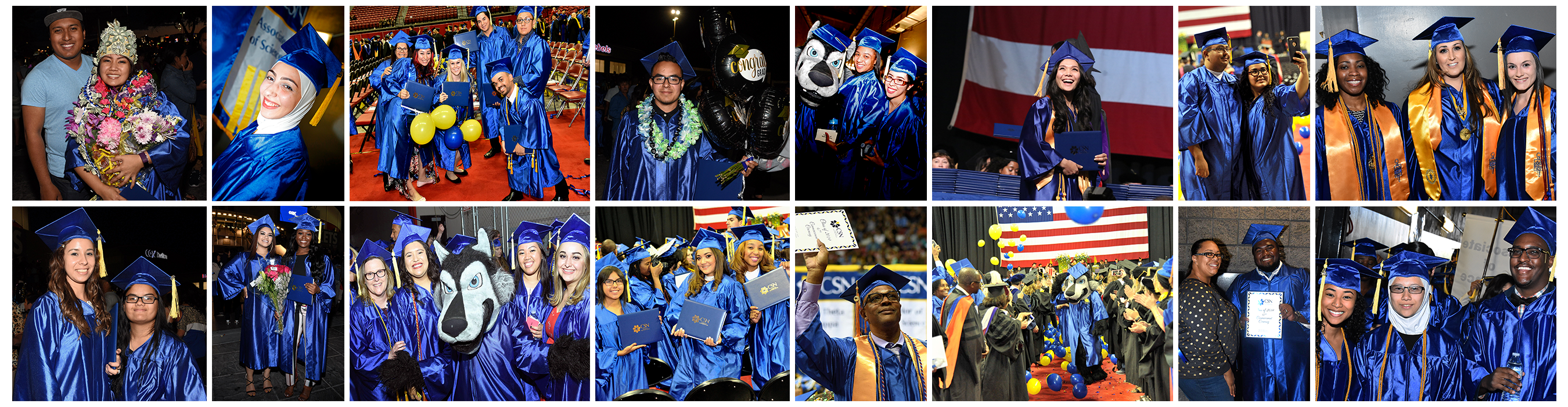 Collage of CSN graduating students