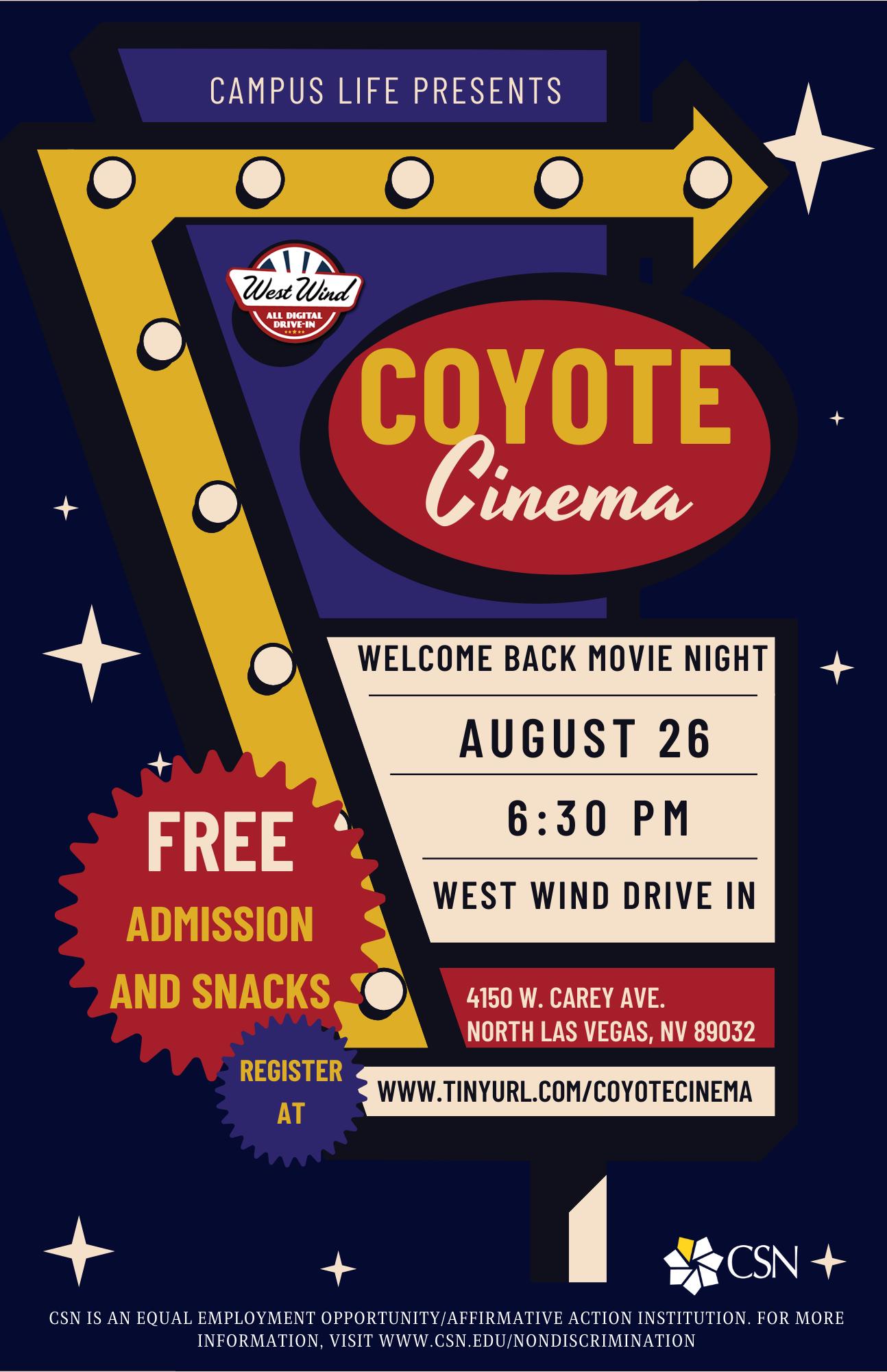 Coyote Cinema Marketing