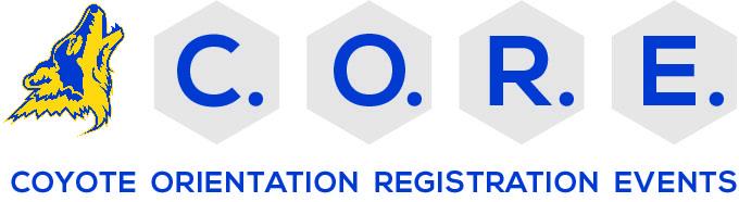 Coyote Orientation Registration Events Logo