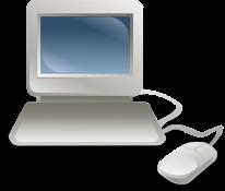 clip art - desktop pc