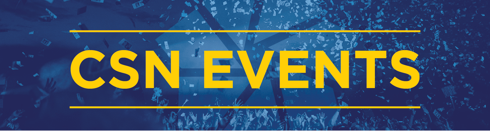 CSN Events Banner