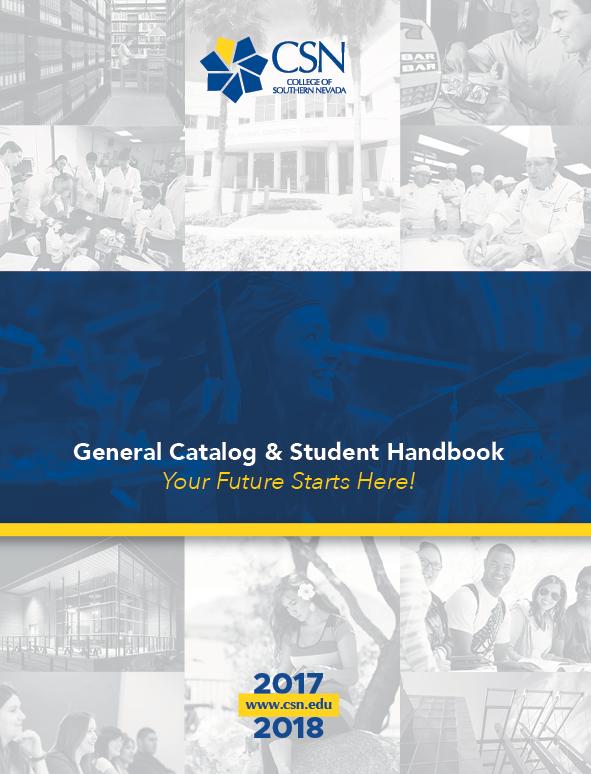 2017-2018 College Catalog and Student Handbook