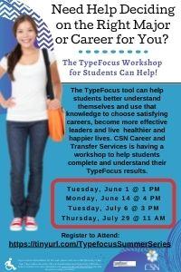 TypeFocus Workshops for Students
