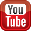 YouTube logo, link to CSN Art Galleries promotional videos