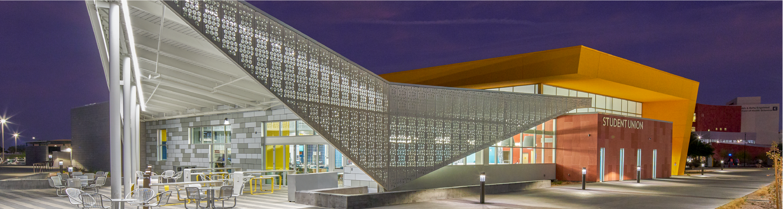 CSN student union building
