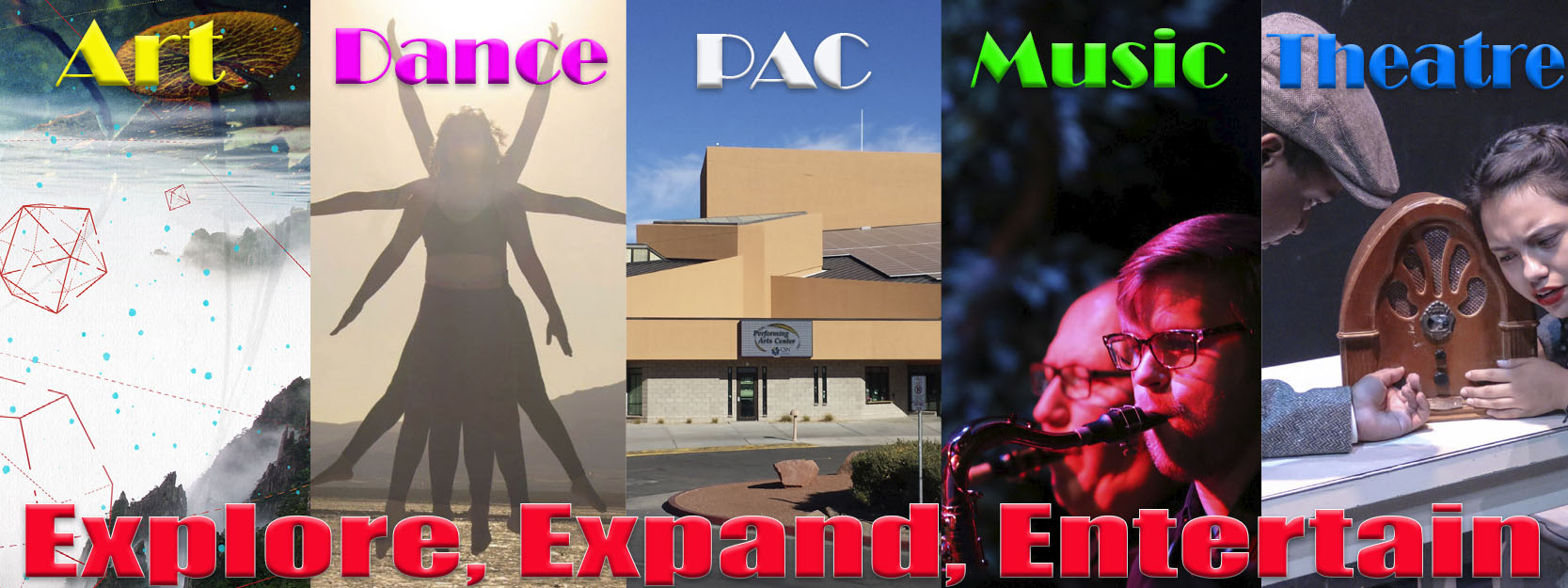 Explore and experience the performing arts