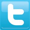 Twitter logo, link to CSN Art Galleries Twitter micro blog